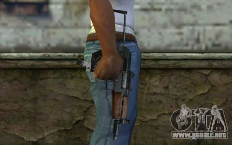 Pistola De Guepardo para GTA San Andreas tercera pantalla