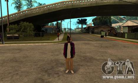 The Ballas Skin Pack para GTA San Andreas quinta pantalla