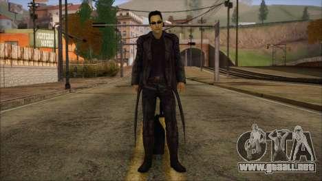 Neo Matrix Skin para GTA San Andreas