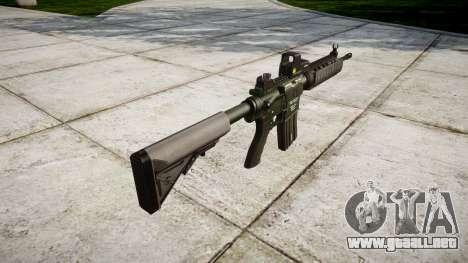 Máquina M4A1 para GTA 4 segundos de pantalla