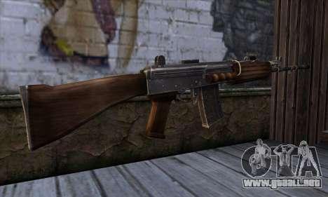 IOFB INSAS from Sniper Ghost Warrior 2 para GTA San Andreas segunda pantalla