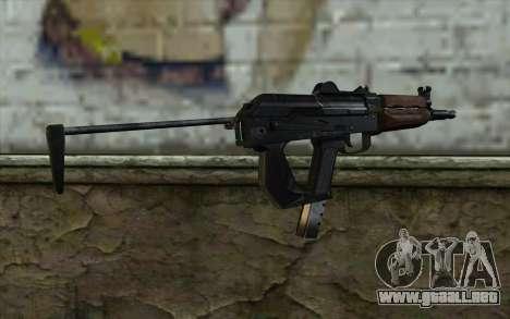 Pistola De Guepardo para GTA San Andreas segunda pantalla
