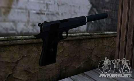 New Silenced Colt45 para GTA San Andreas segunda pantalla
