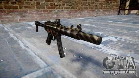 Pistola de MP5SD DRS FS c de destino para GTA 4
