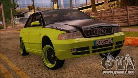 Audi S4 Fatlace para GTA San Andreas