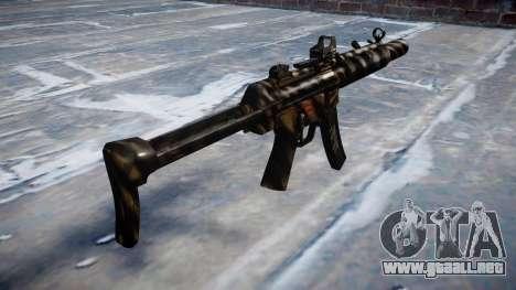 Pistola de MP5SD DRS FS c de destino para GTA 4 segundos de pantalla