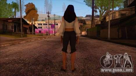 Zantana para GTA San Andreas segunda pantalla