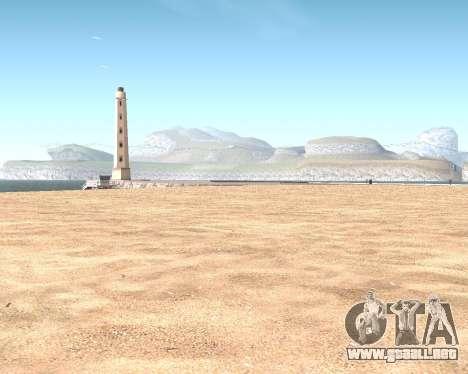 La textura de Los Santos de GTA 5 para GTA San Andreas décimo de pantalla