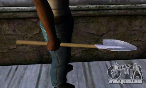 New Shovel para GTA San Andreas tercera pantalla