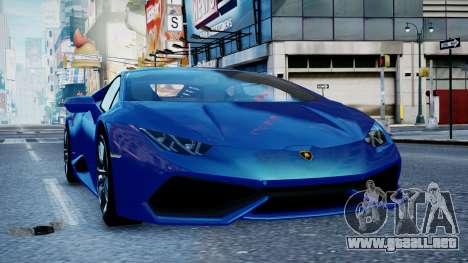 Lamborghini Huracan LP610-4 from Horizon 2 para GTA 4