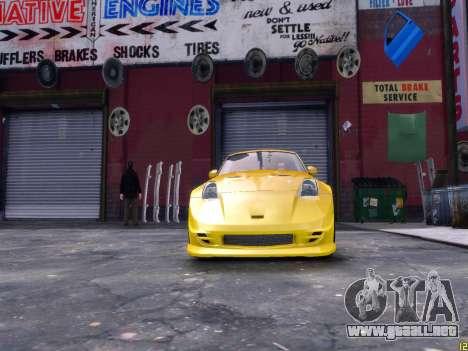 Nissan 350Z Fast And Furious Tokyo Drift para GTA 4 visión correcta