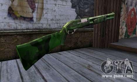 Chromegun v2 Militar para colorear para GTA San Andreas segunda pantalla