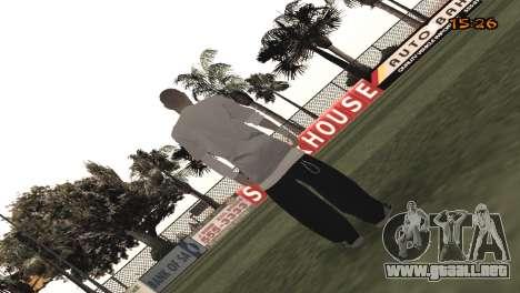 Tracer Skin New Era para GTA San Andreas segunda pantalla