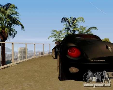 Stinger para la visión correcta GTA San Andreas