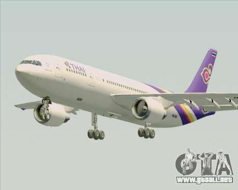 Airbus A300-600 Thai Airways International para GTA San Andreas