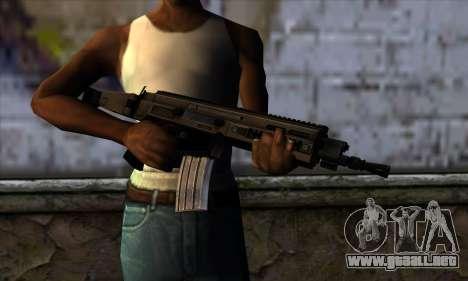CZ805 из de Battlefield 4 para GTA San Andreas tercera pantalla