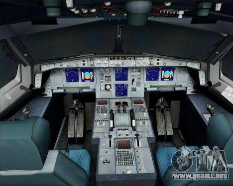 Airbus A340-300 Air Koryo para GTA San Andreas interior