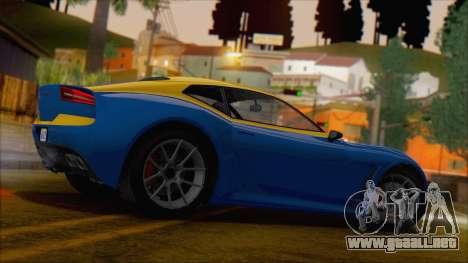 GTA 5 Lampadati Furore GT (IVF) para GTA San Andreas left