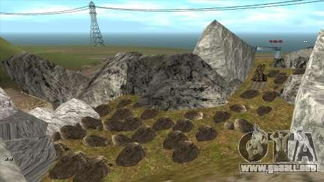 Трасса Offroad v1.1 por Rappar313 para GTA San Andreas décimo de pantalla