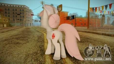 Nurseredheart from My Little Pony para GTA San Andreas segunda pantalla