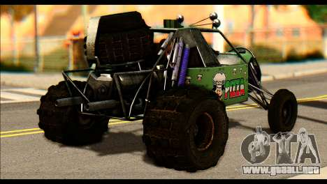 Buggy Fireball from Fireburst para GTA San Andreas left