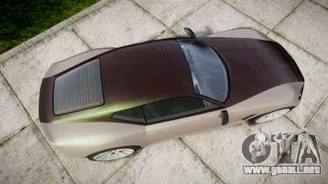GTA V Lampadati Furore GT para GTA 4 visión correcta