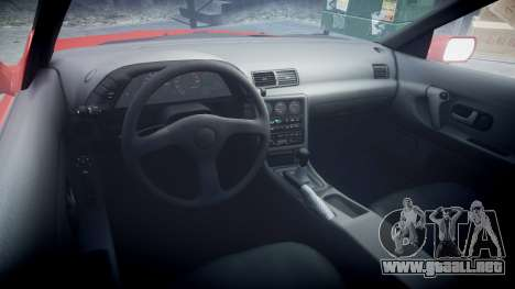Nissan Skyline R32 GT-R para GTA 4 vista hacia atrás
