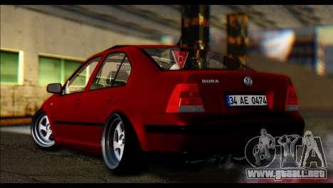 Volkswagen BorAir para GTA San Andreas vista posterior izquierda