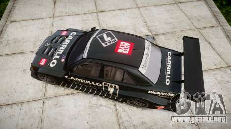 Mercedes-Benz 190E Evo II GT3 PJ 2 para GTA 4 visión correcta