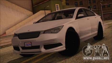 GTA 5 Ubermacht Sport para GTA San Andreas