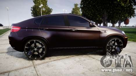 BMW X6M rims2 para GTA 4 left