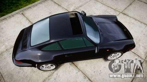 Porsche 911 (964) Coupe Razval para GTA 4 visión correcta