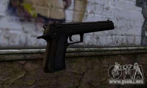 Grammaton Cleric Beretta v1 para GTA San Andreas segunda pantalla