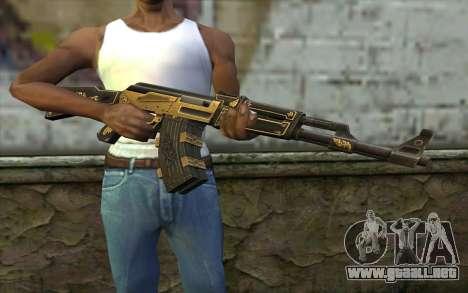 AK47 from PointBlank v1 para GTA San Andreas tercera pantalla