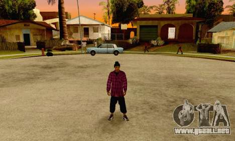 The Ballas Gang Skin Pack para GTA San Andreas quinta pantalla