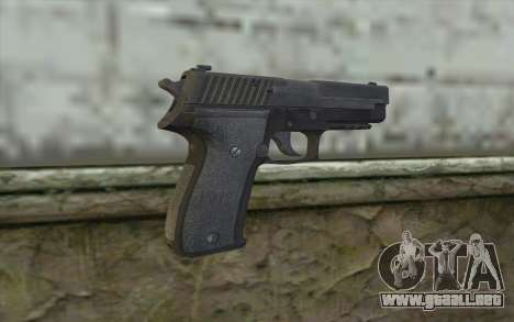 P226 from COD: Ghosts para GTA San Andreas segunda pantalla