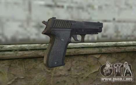 P226 from COD: Ghosts para GTA San Andreas segunda pantalla