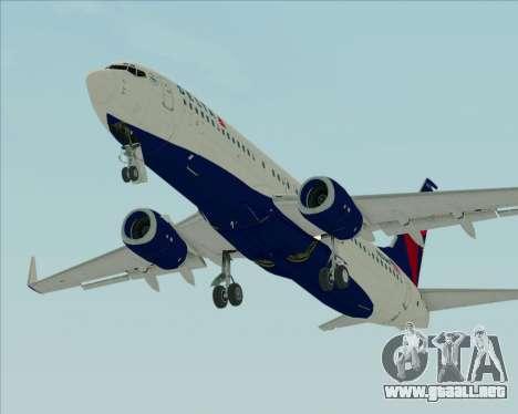 Boeing 737-800 Delta Airlines para visión interna GTA San Andreas