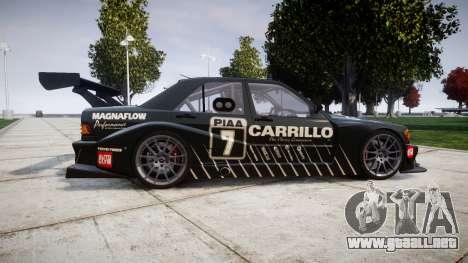 Mercedes-Benz 190E Evo II GT3 PJ 2 para GTA 4 left
