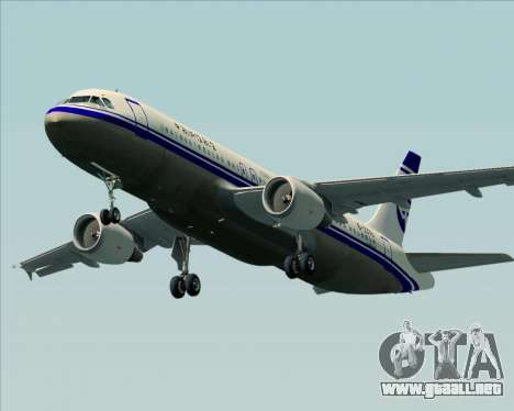 Airbus A320-200 CNAC-Zhejiang Airlines para el motor de GTA San Andreas