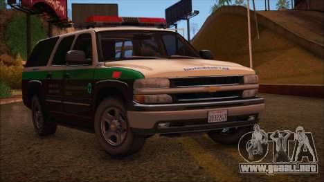 Tierra Robada Armed Forces Border Patrol para GTA San Andreas