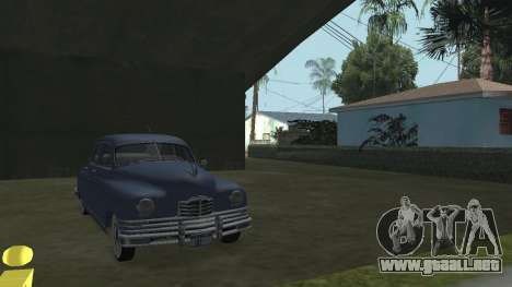 Packard Touring  Sedan para GTA San Andreas