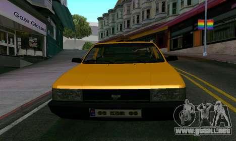 Tofas Sahin Taxi para visión interna GTA San Andreas