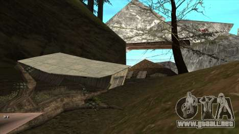 Трасса Offroad v1.1 por Rappar313 para GTA San Andreas sexta pantalla