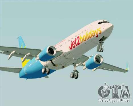 Boeing 737-800 Jet2Holidays para GTA San Andreas left
