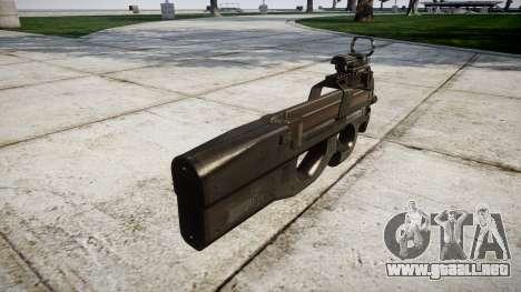 Belga subfusil FN P90 para GTA 4 segundos de pantalla