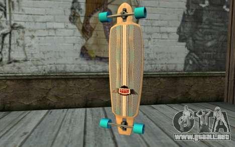 Longboard para GTA San Andreas segunda pantalla