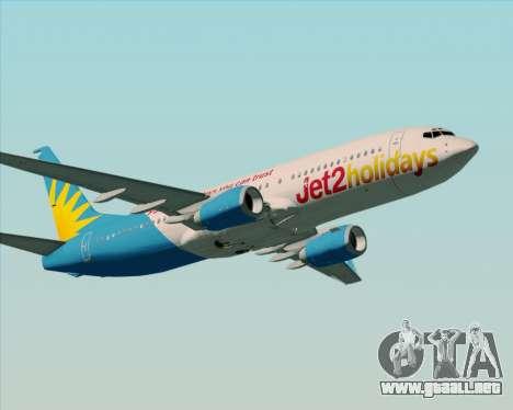 Boeing 737-800 Jet2Holidays para la visión correcta GTA San Andreas