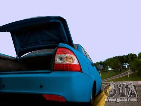 VAZ 2170 para la vista superior GTA San Andreas