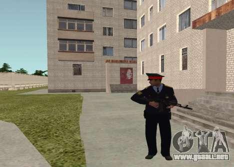 El sargento de la policía para GTA San Andreas